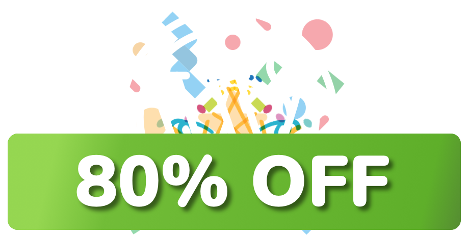 80% off WordPress Hosting