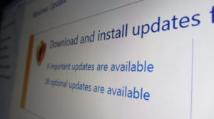 Windows Updates – why you should